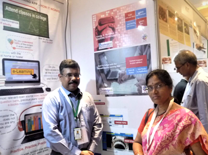 At the IIA exhibition & conference, Vizag.