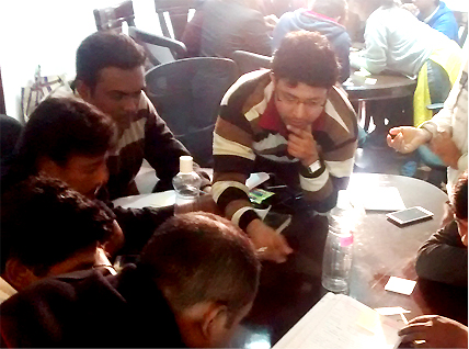 Design Thinking workshop.